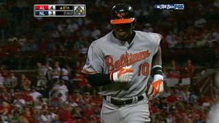 AL@NL: Jones' sac fly spots AL the lead