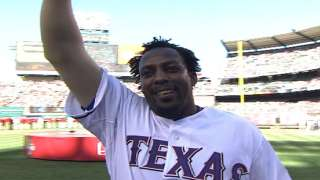 2010 ASG: Vlad is introduced, receives a huge ovation