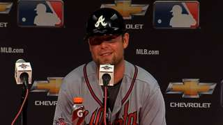 All-Star MVP Brian McCann talks about the NL victory