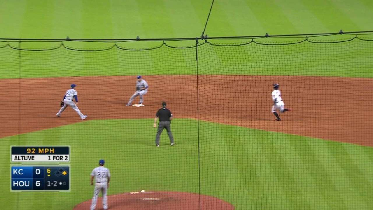 Finnegan gets double play