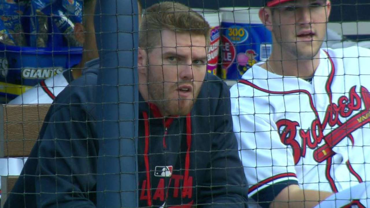 Freeman likely out through All-Star break