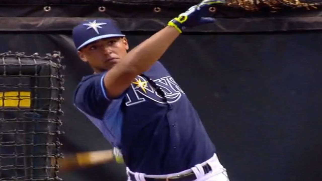 Rays sign first-round Draft pick Whitley