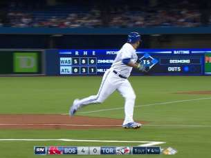 BOS@TOR: Colabello plates Encarnacion with a single