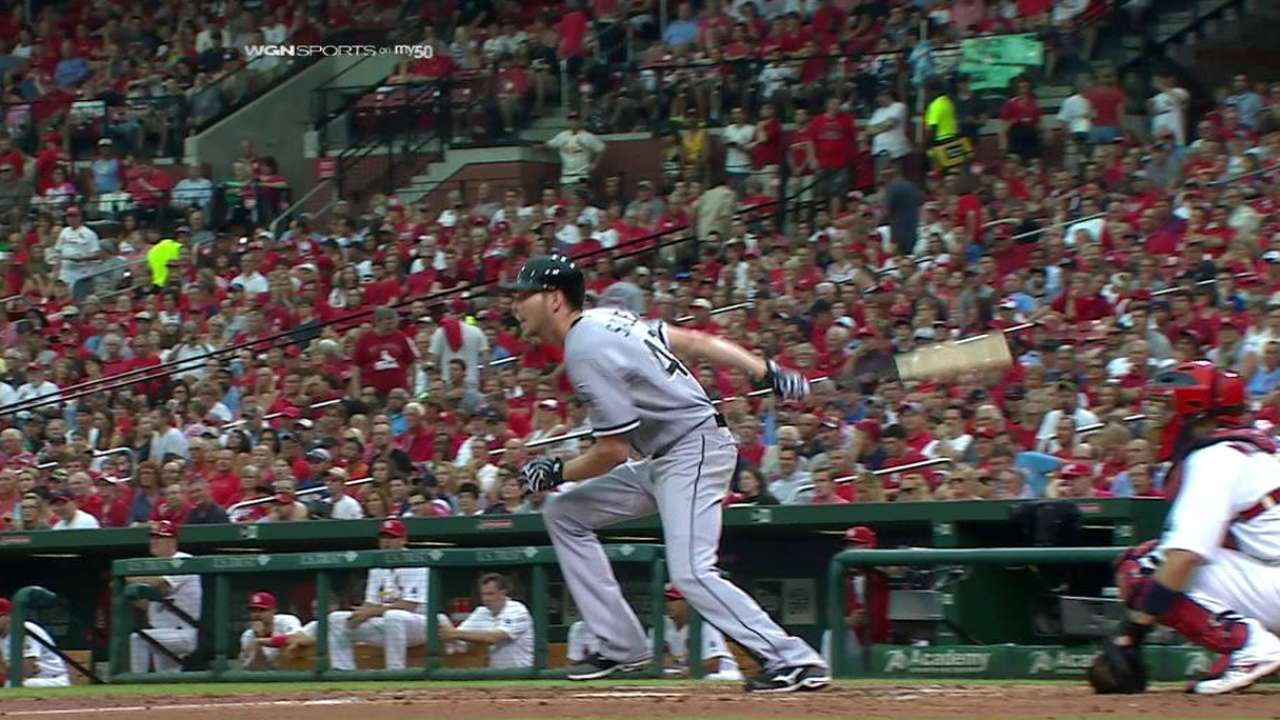 Sale's first career hit