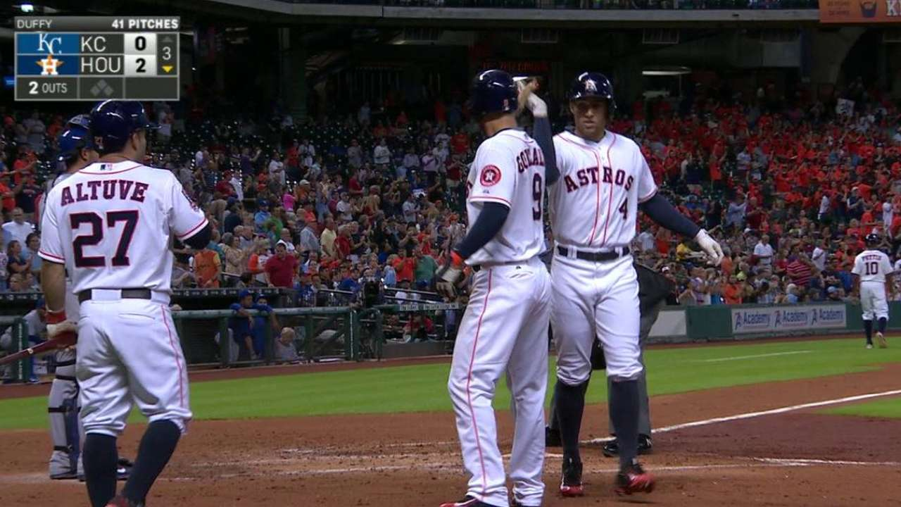 Springer's two-run homer