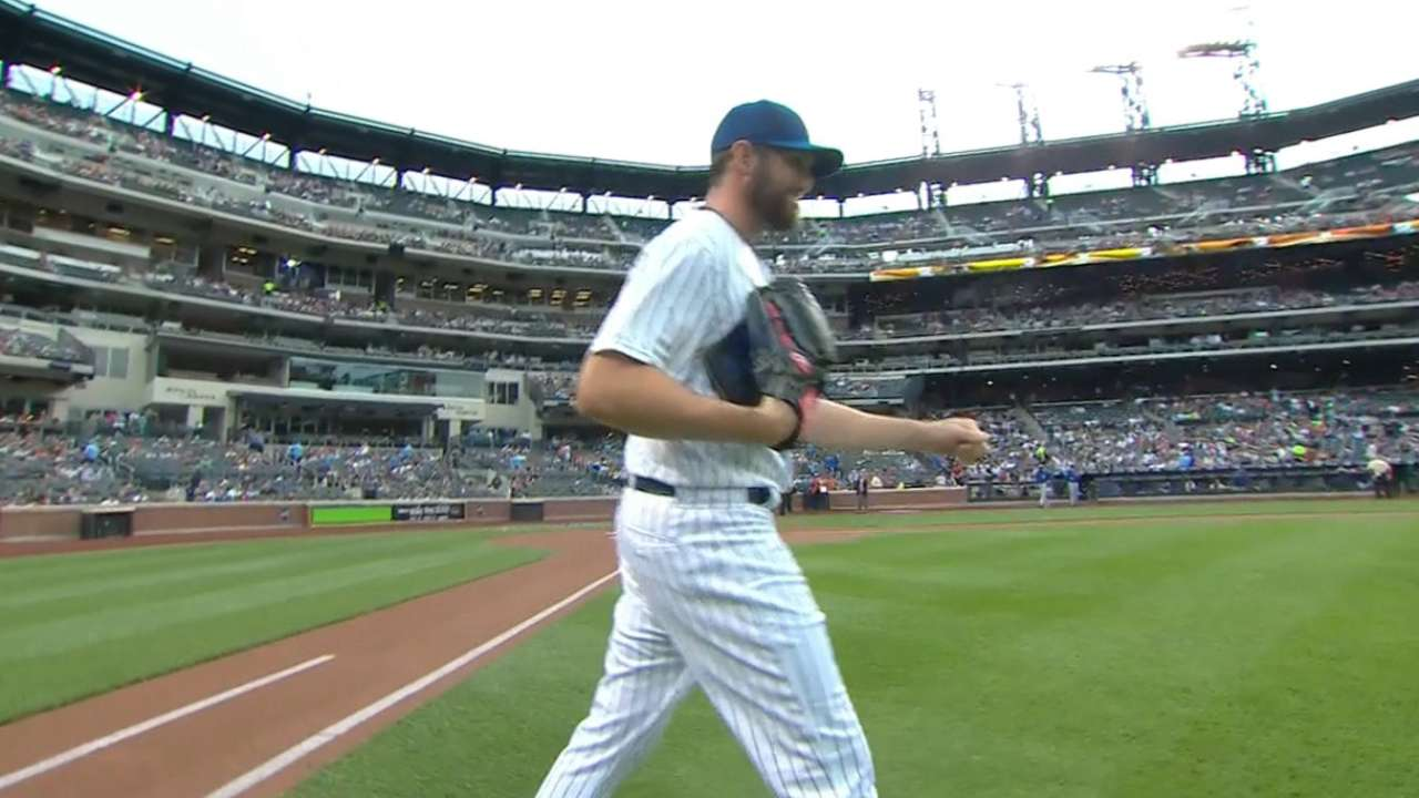 Niese's strong start