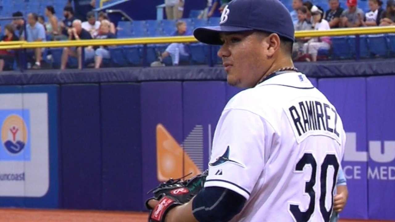 Ramirez strikes out seven