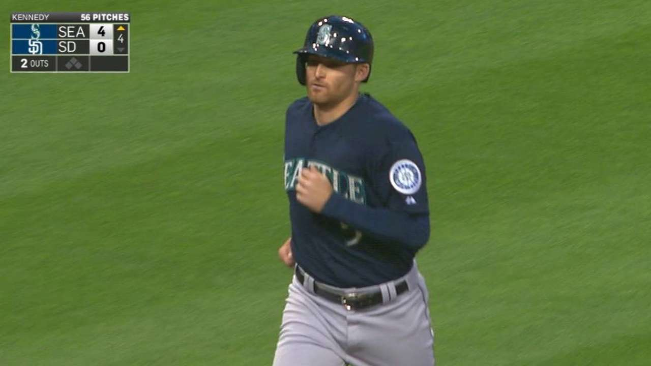 Miller's two-run homer