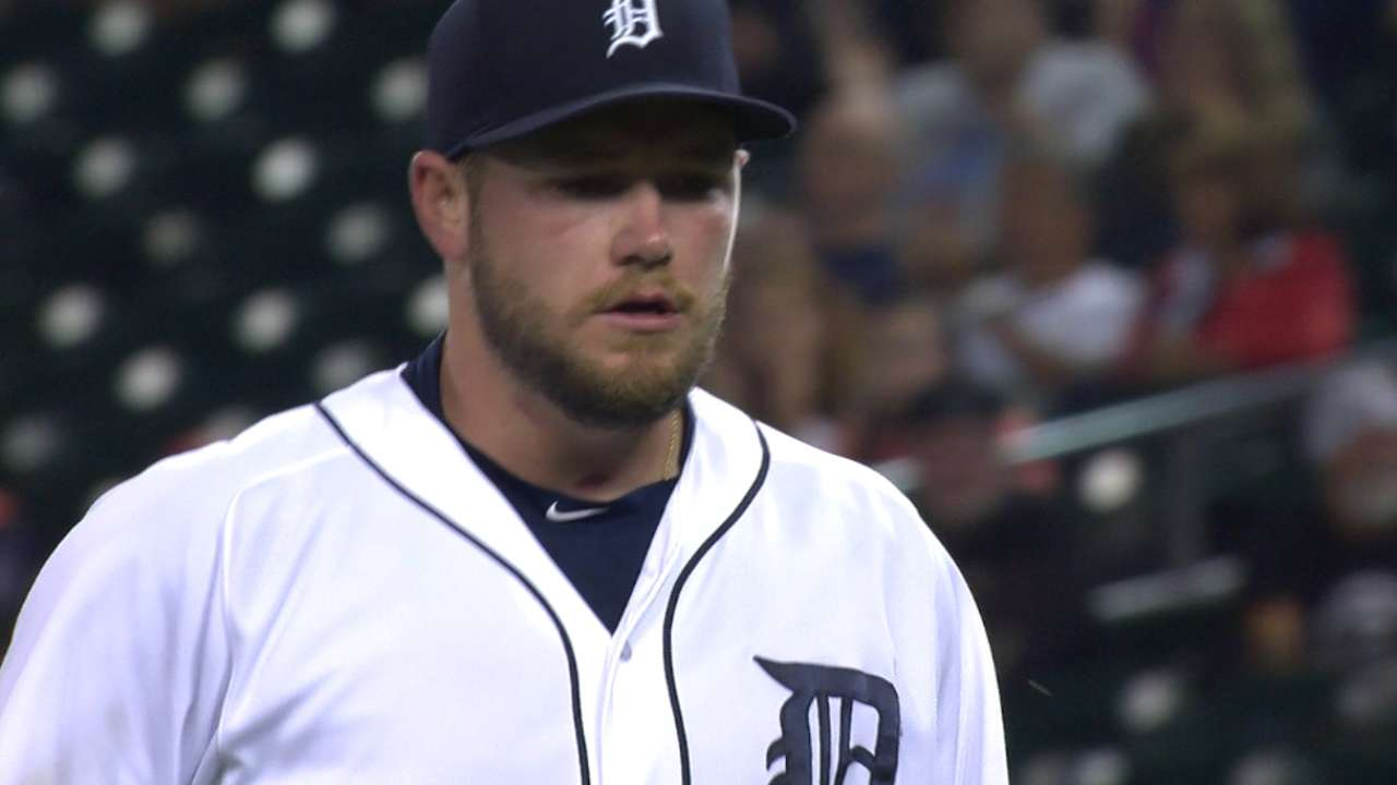 Wilson becoming an important piece for Tigers bullpen