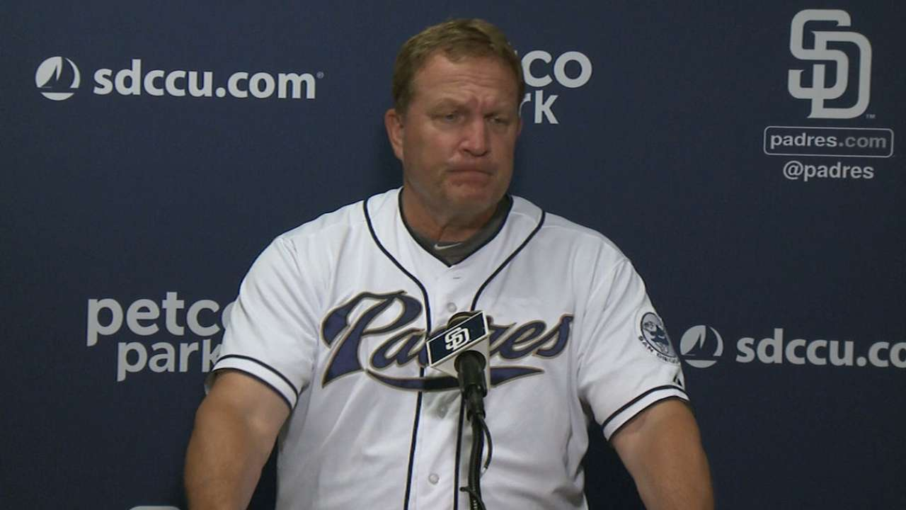 Murphy hopes Padres 'flush' offensive woes