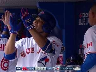 BOS@TOR: Encarnacion crushes a three-run homer