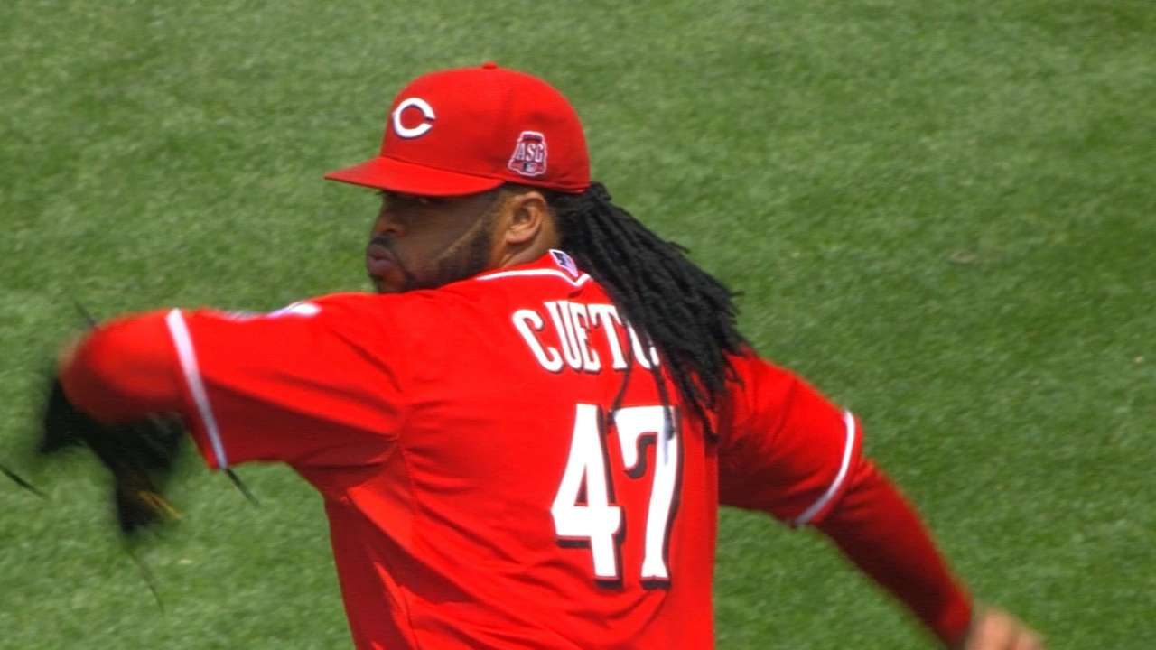 Questions remain if Cueto will pitch in All-Star Game