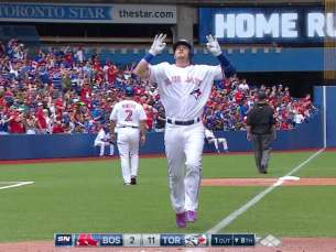 BOS@TOR: Donaldson rips his 19th home run of season
