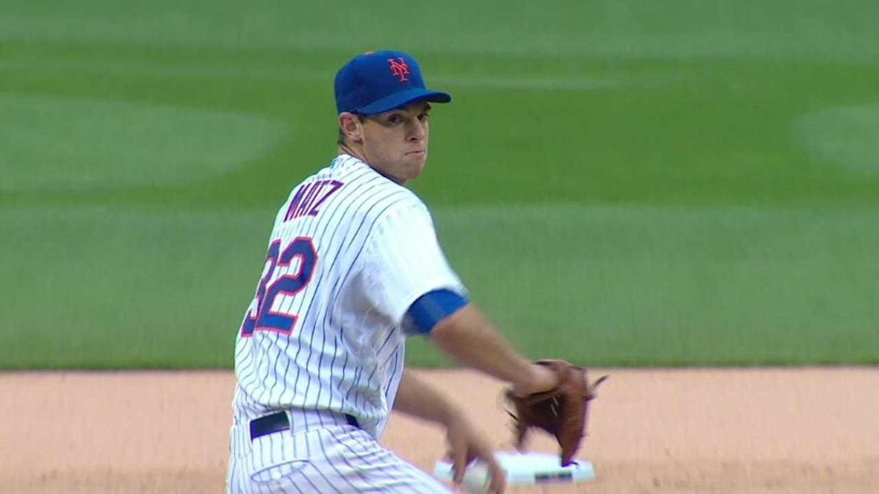 Matz, eyeing encore, faces Dodgers