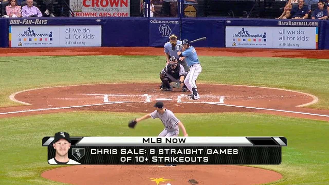 MLB Now: Chris Sale's success