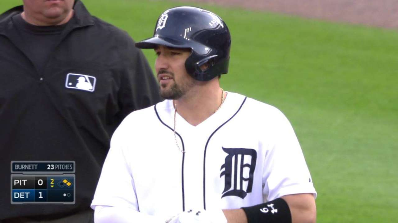 Tigers can't rally in loss to Pirates