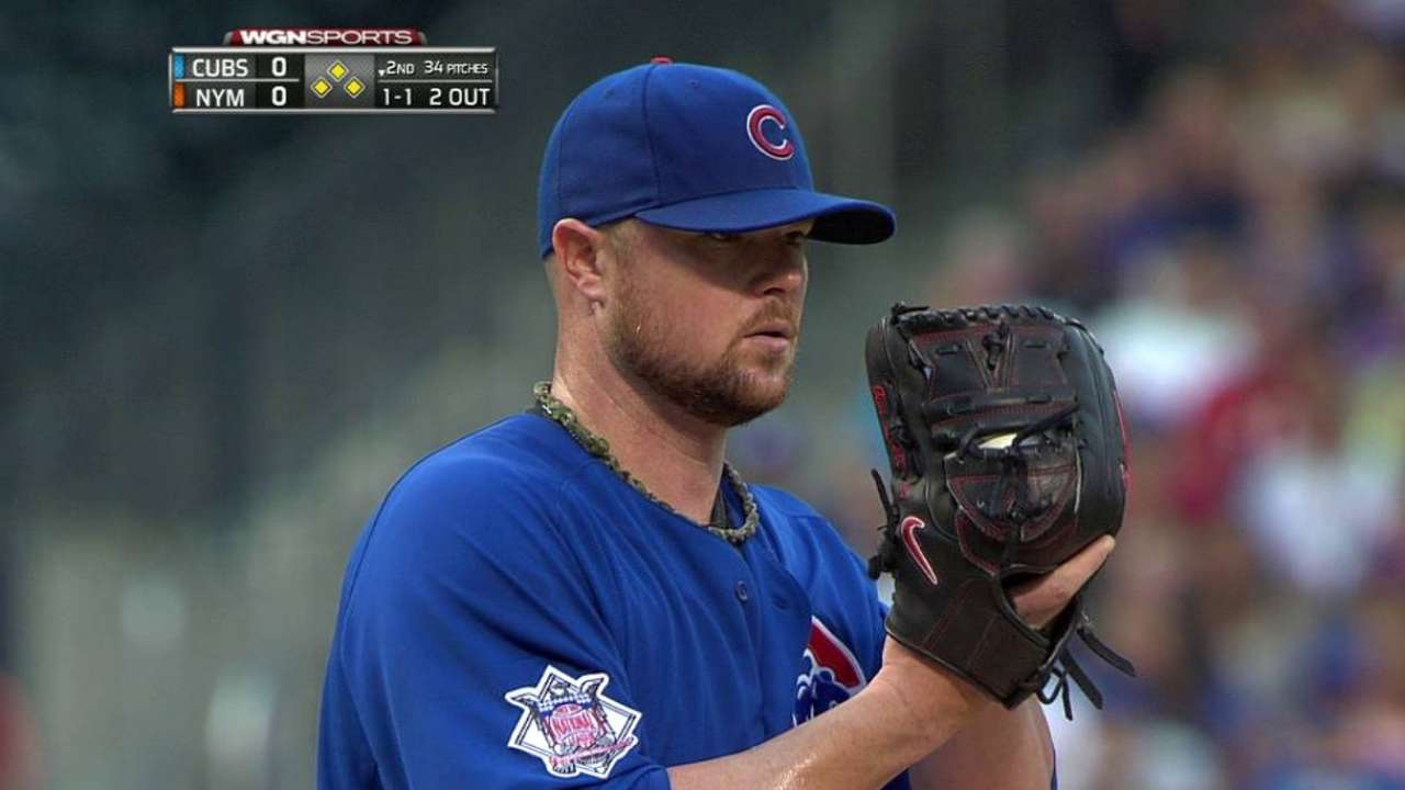 Lester works out of trouble