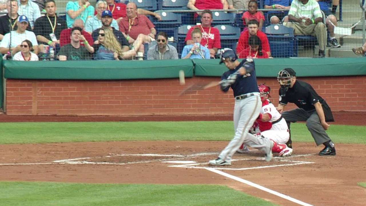 Ramirez's two-run double