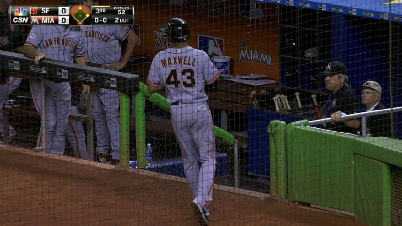 Defensive-wizard Marlins have tough night in field