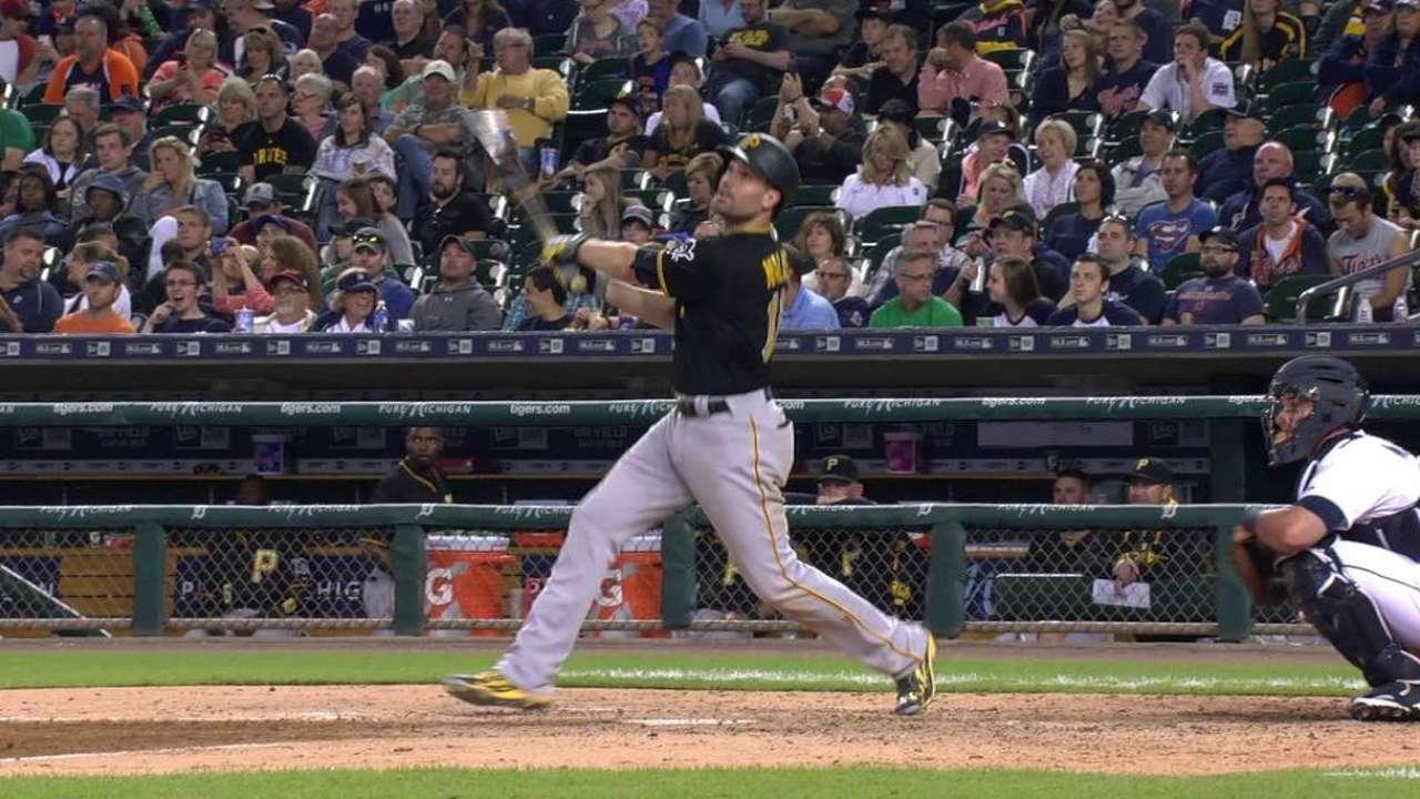 Walker's second homer