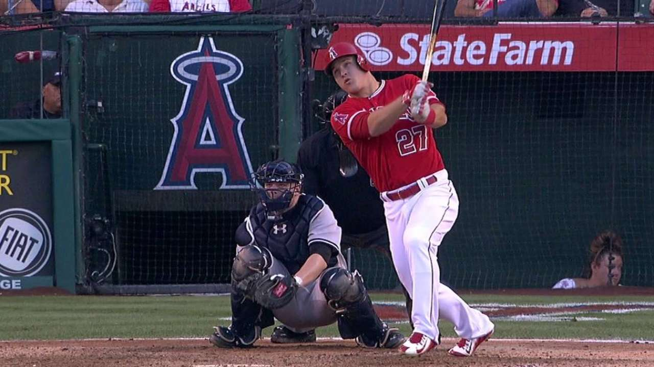 Trout's 21st homer isn't enough vs. Yankees