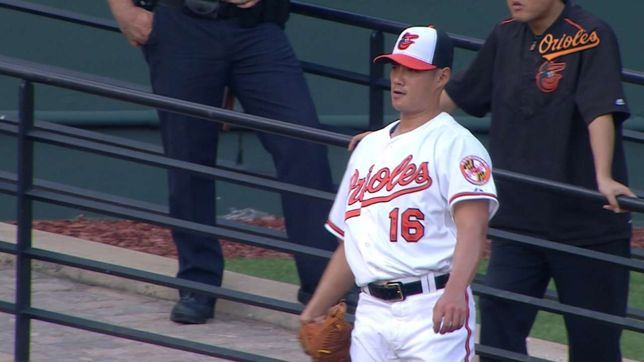 Chen tosses eight innings in win
