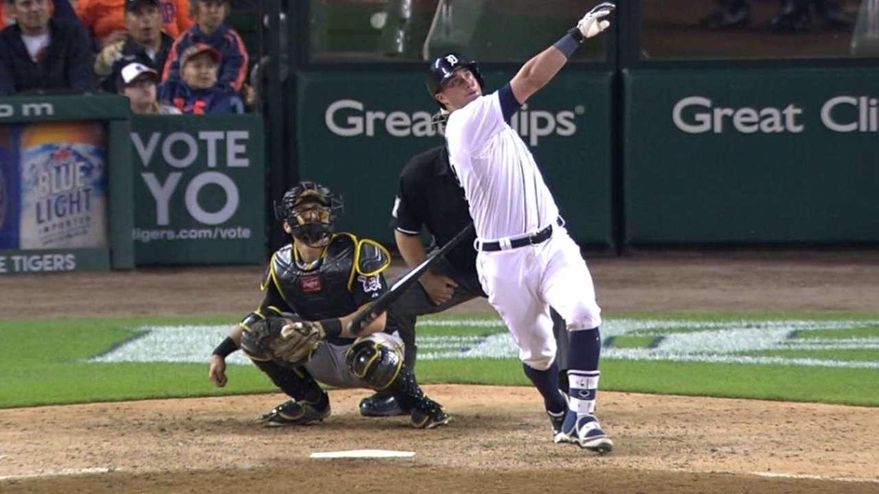 McCann's solo home run