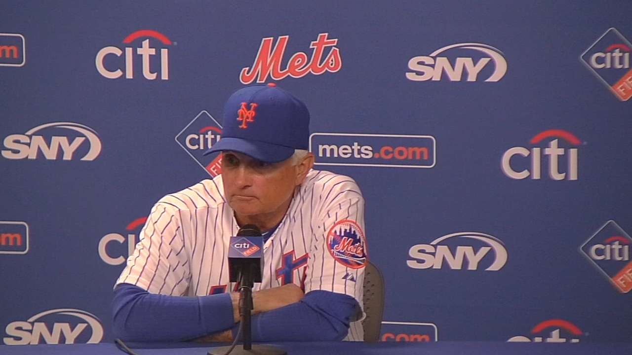Collins on extra-inning loss