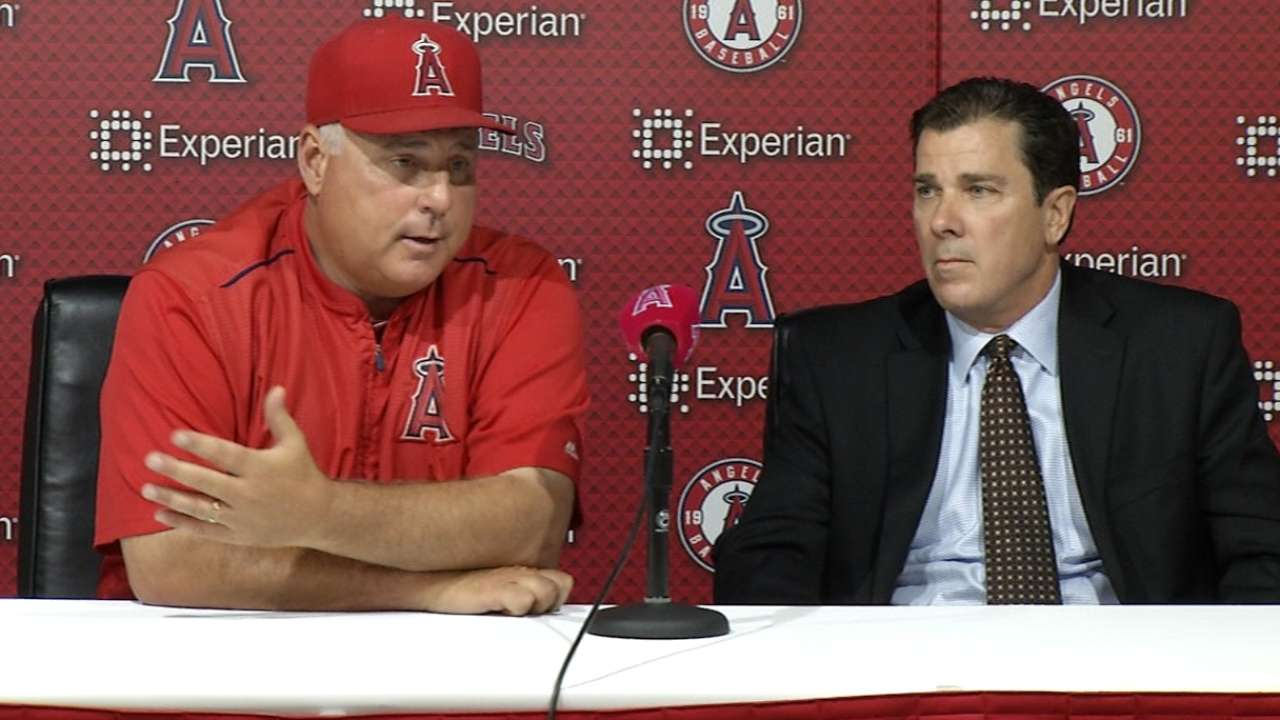 Angels' front office moving on without Dipoto