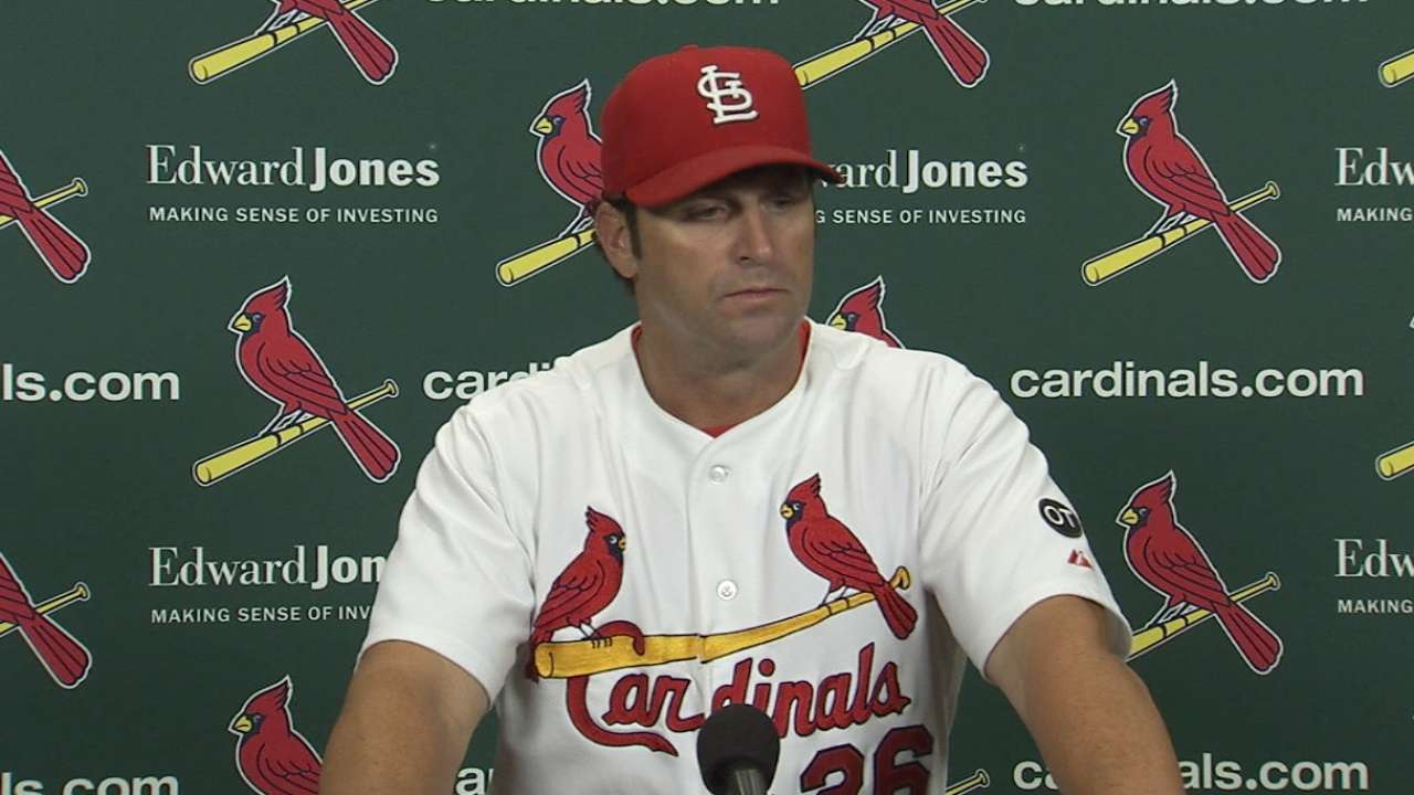 Matheny on loss to the White Sox