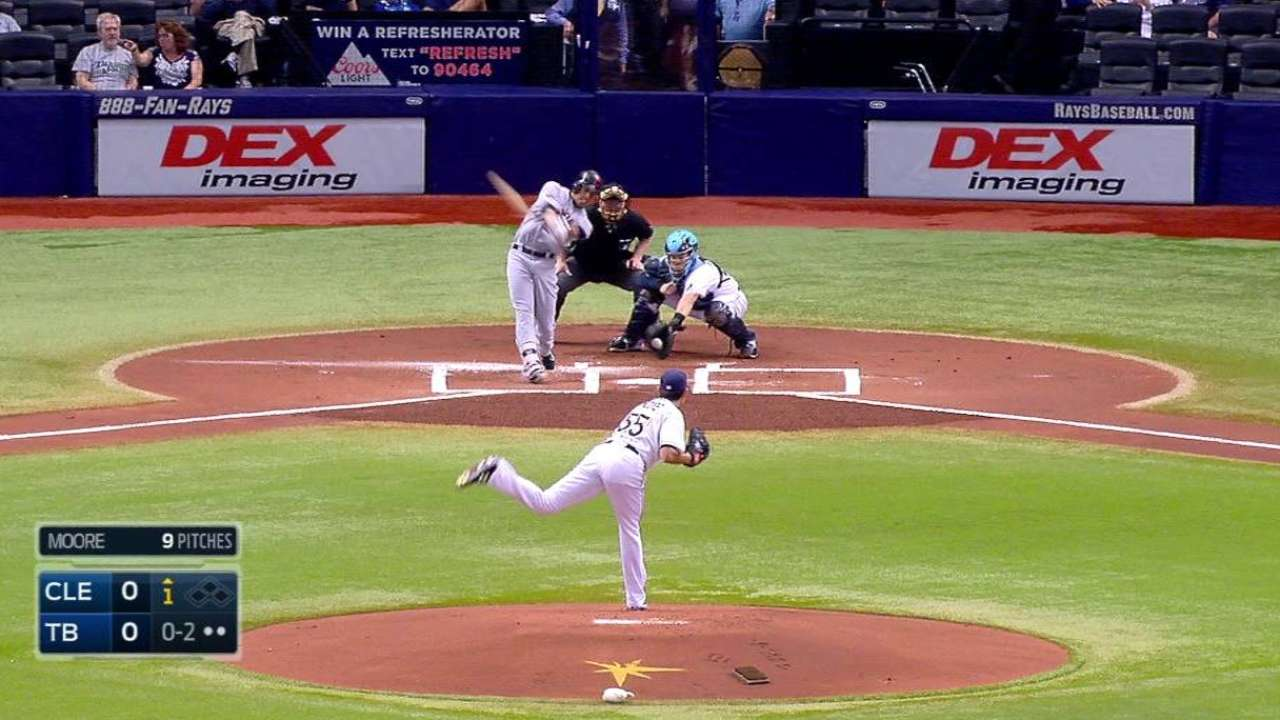 Moore collects first K in 2015