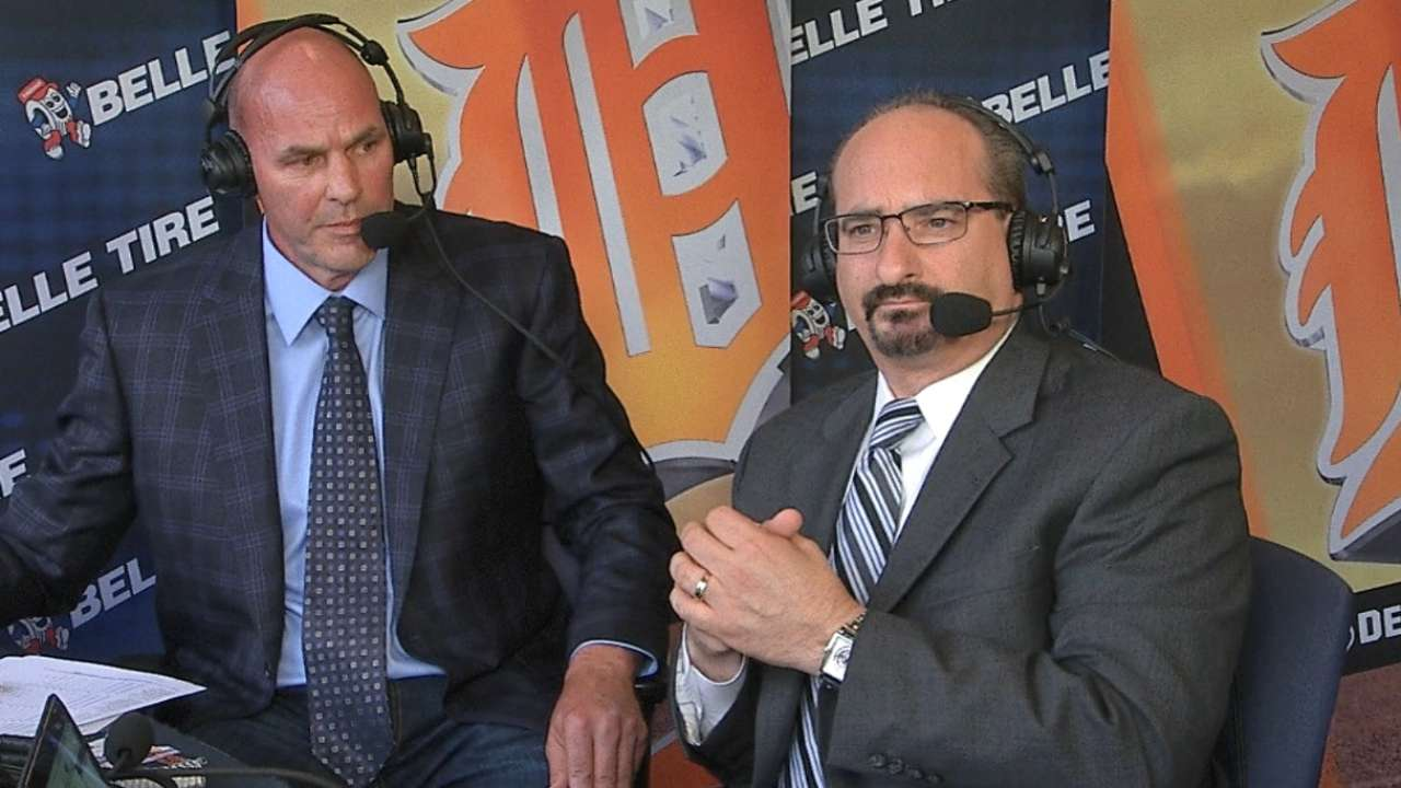 Gibson returns to Tigers booth