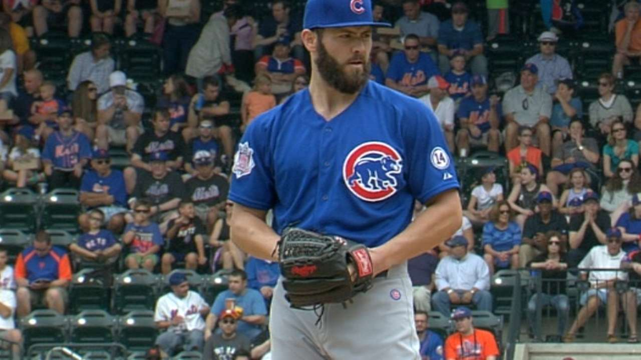 Arrieta's one-run outing