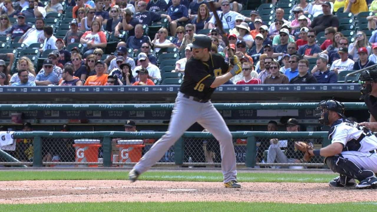 Walker's four-hit day