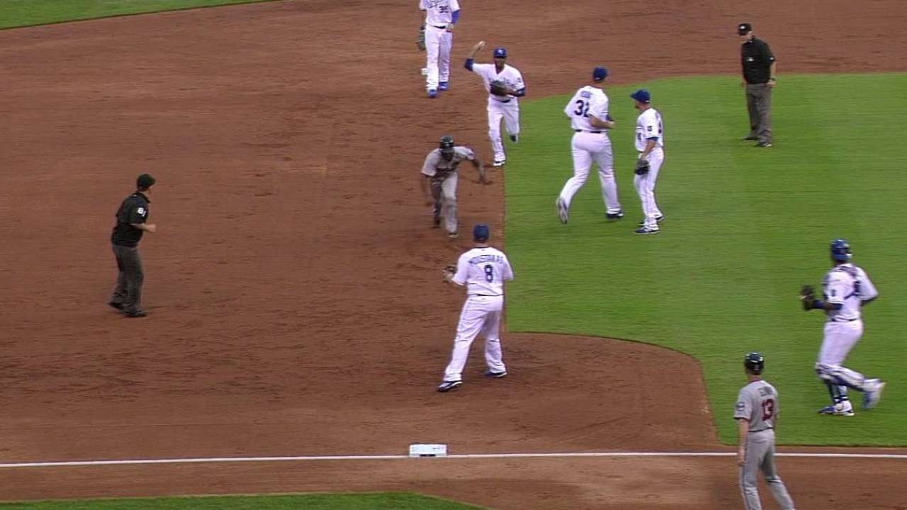 Young solid, but Royals drop opener with Twins