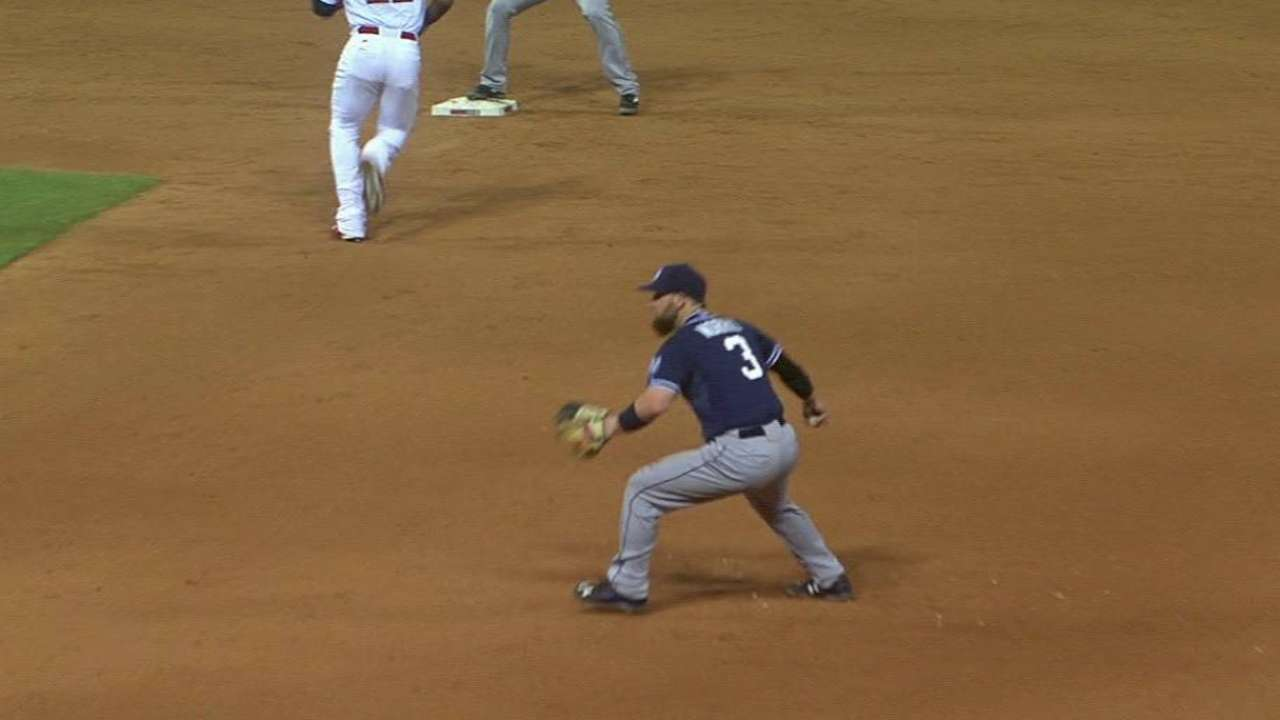 Norris comes up big in rare start at first base