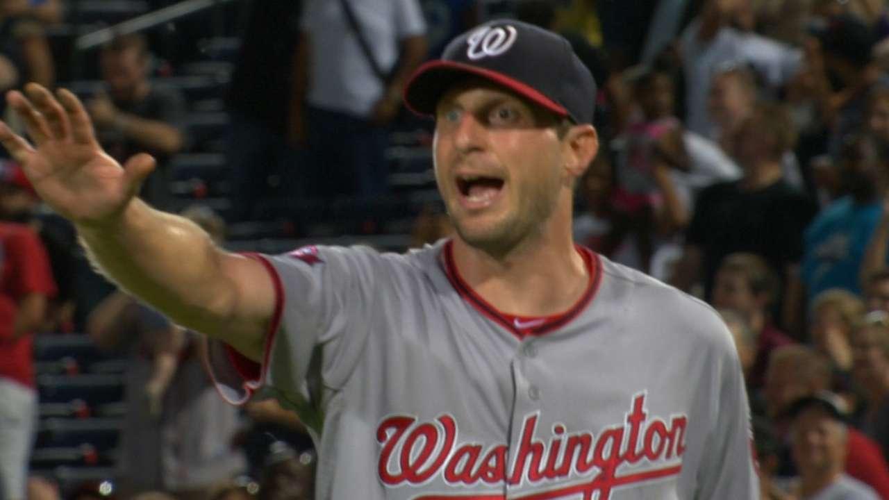 Scherzer on tough loss to Braves
