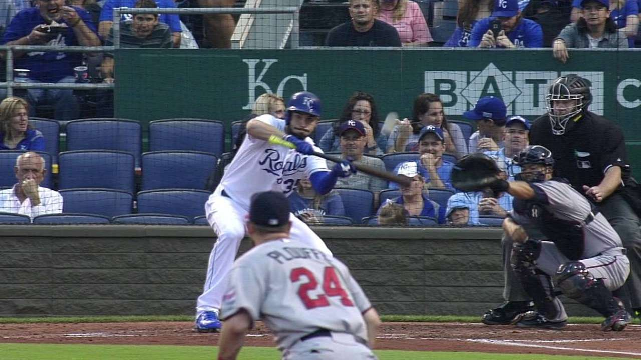 Royals still baffled by Gibson's two-seamer