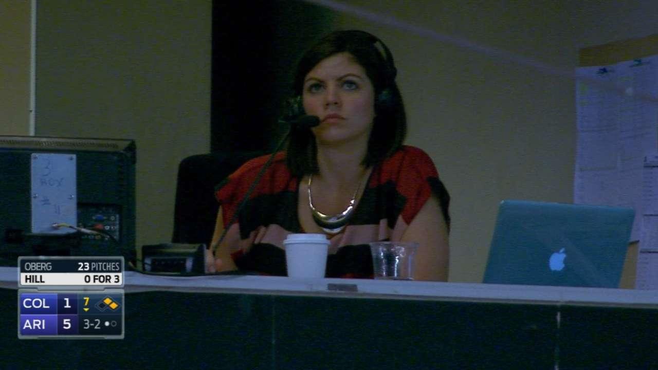 Cavnar makes inroads as female broadcaster