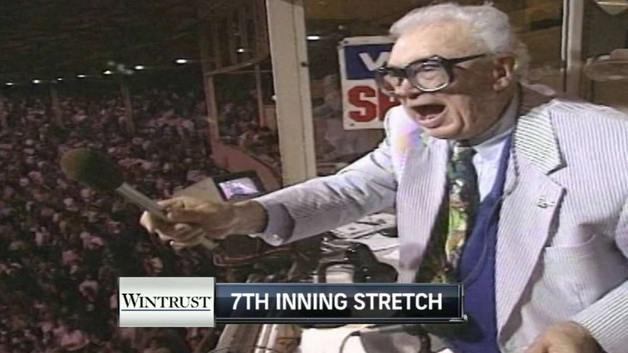 Cubs use Caray video for 7th-inning stretch