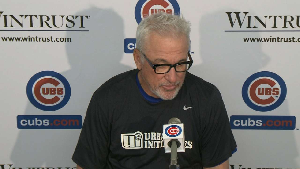 Maddon on missed opportunities