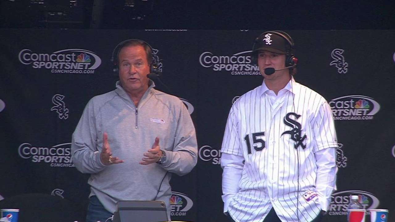 Fulmer interviewed in booth