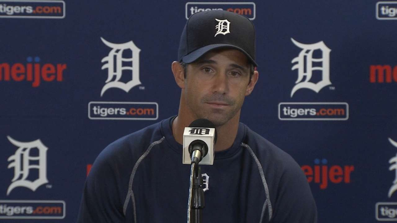 Tigers examine choices at first with Miggy out