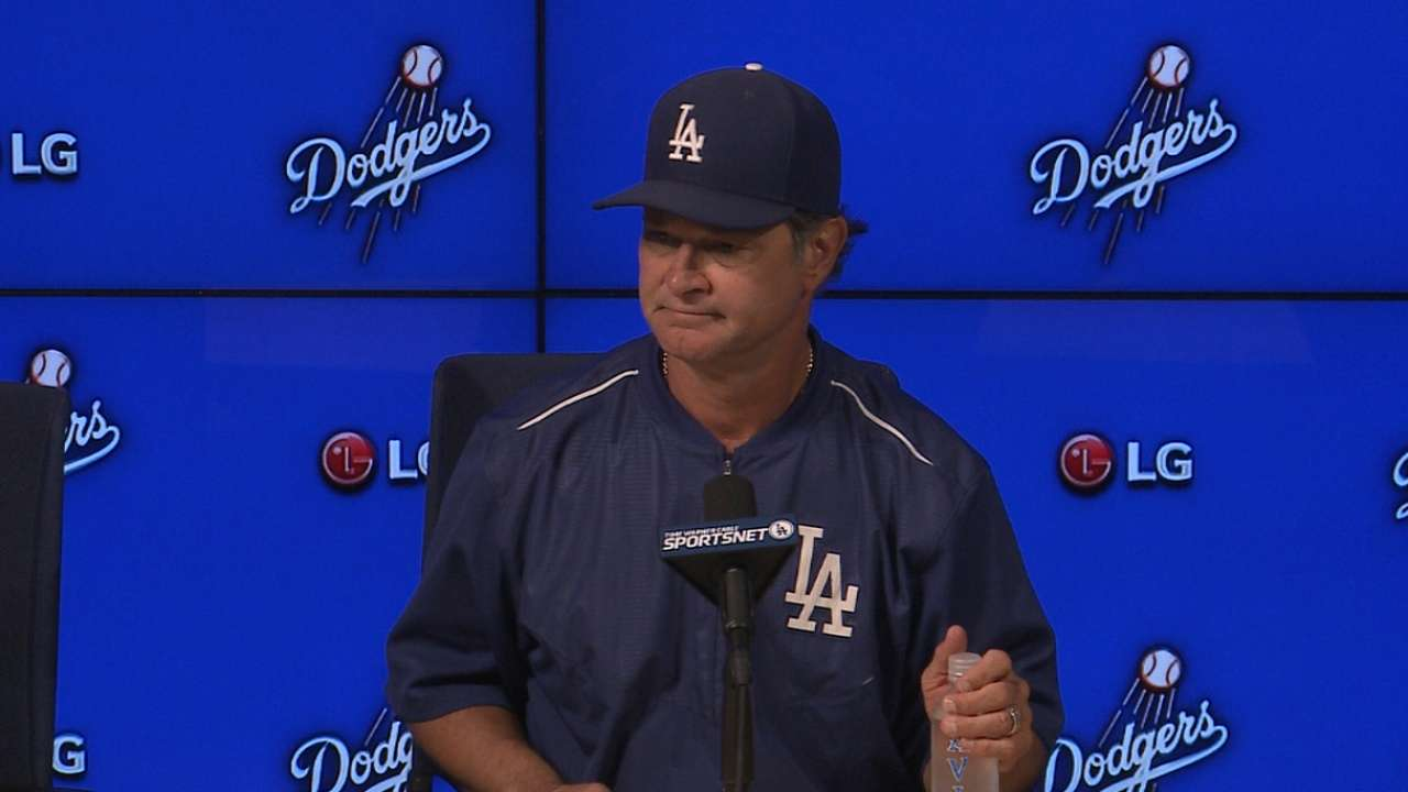 Mattingly on Kershaw, Jansen