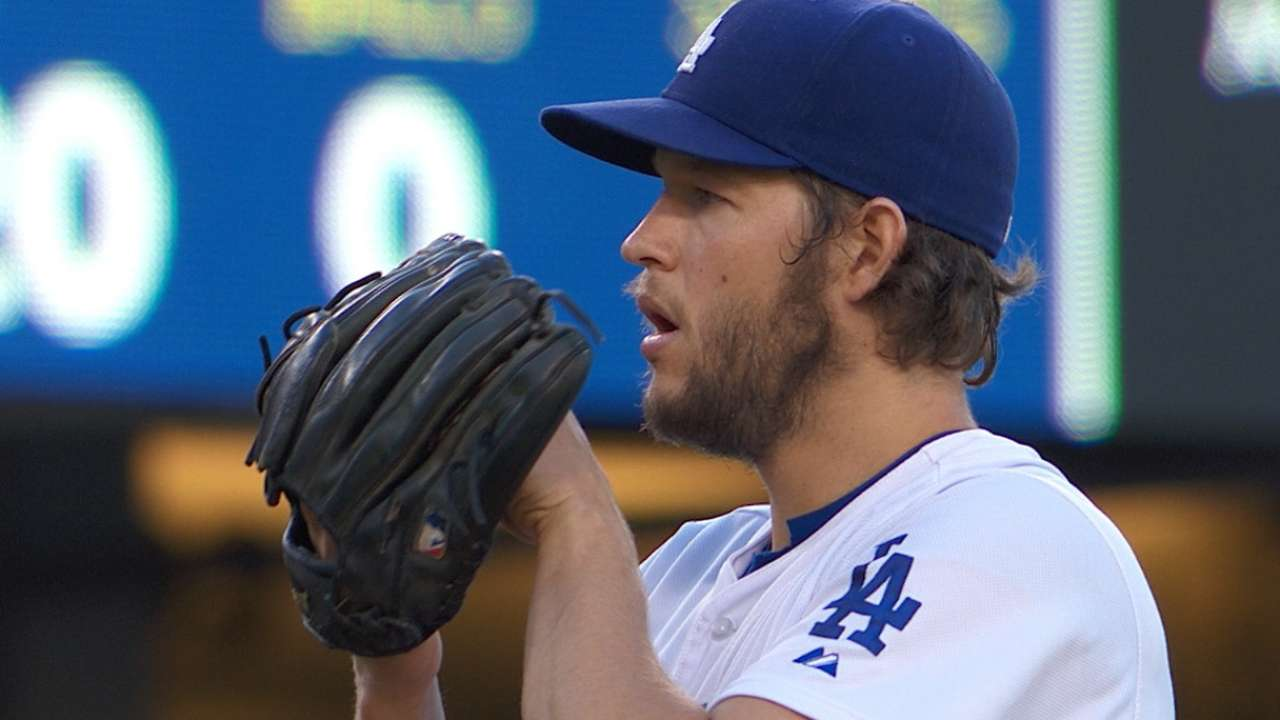 Offense can't come through for Kershaw