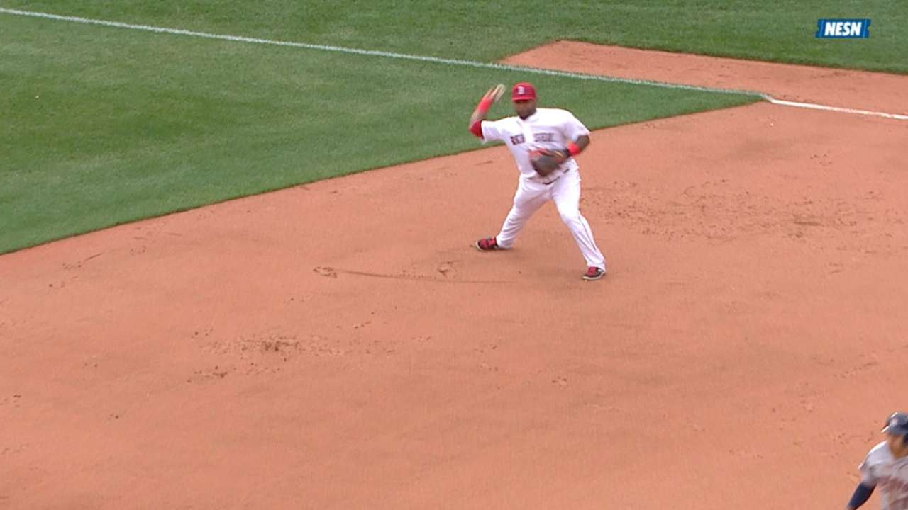 Sandoval's double play