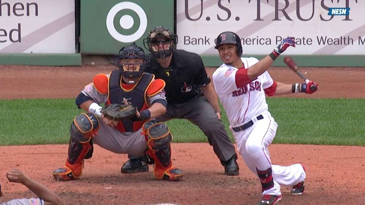 Betts' second RBI double