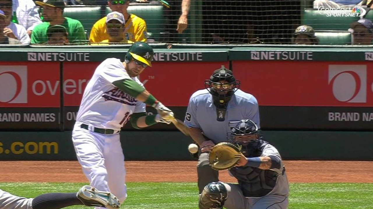 A's clear big hurdle in besting Felix