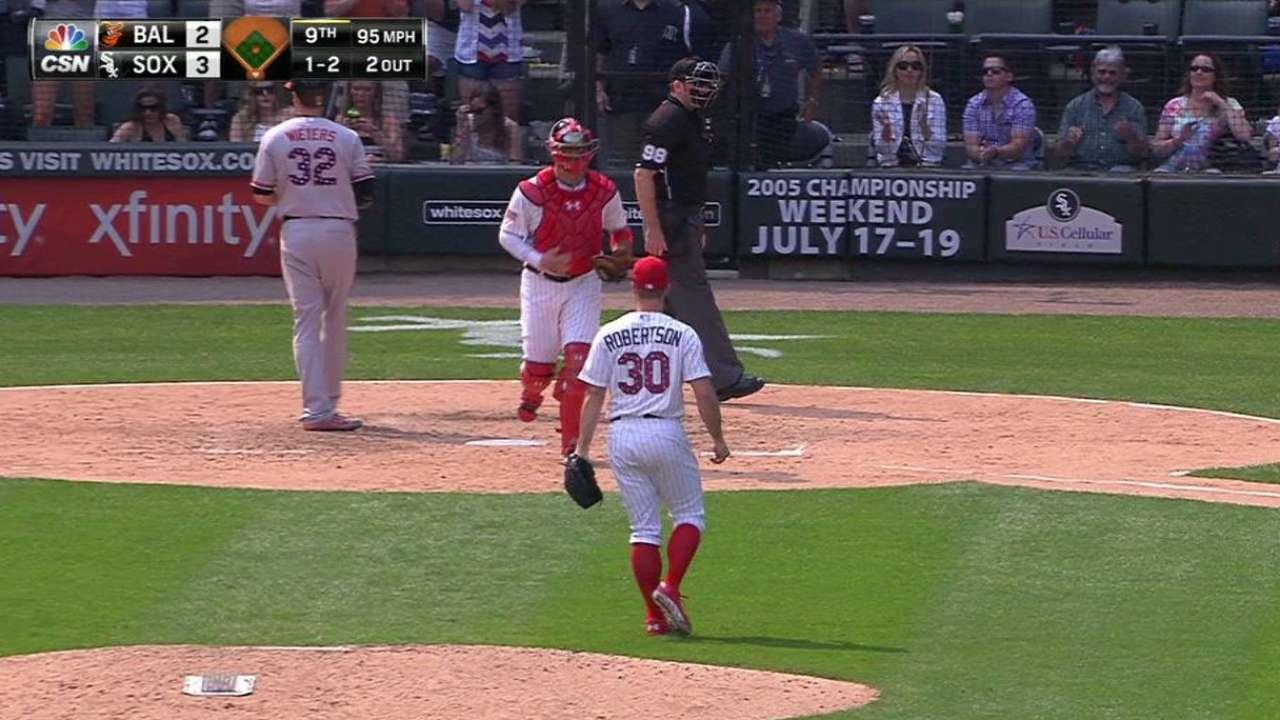 White Sox winning fair share of close games
