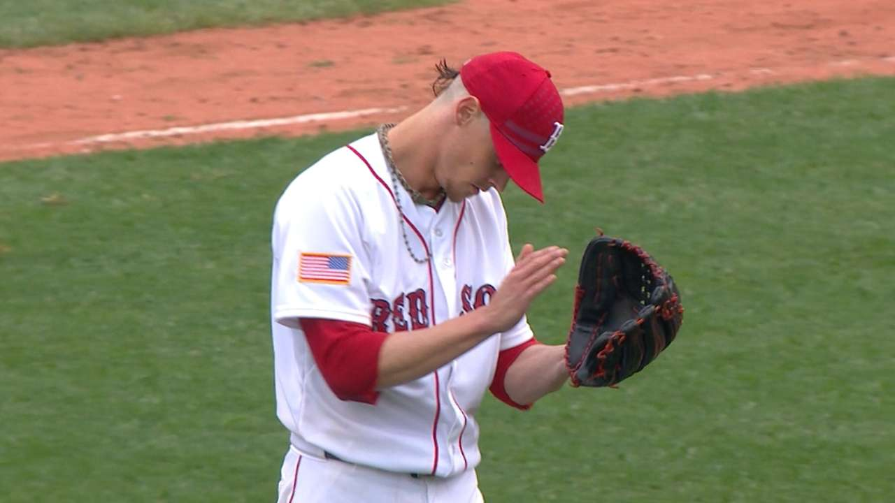 Buchholz continues to deal like an ace
